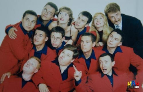 фото из архива команды КВН Четыре Татарина